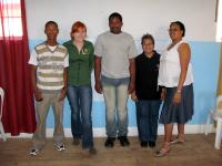 Office volunteers of the Beaufort West Office and their faciliators